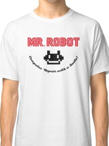 Mr. Robot logo Classic T-Shirt