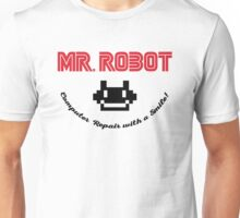 Mr. Robot logo Unisex T-Shirt