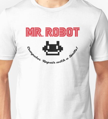 Mr. Robot logo Unisex T-Shirt