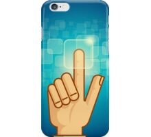 social network structure iPhone Case/Skin