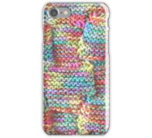 Knitted Art (detail) iPhone Case/Skin