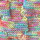 Knitted Art (detail) by Joan Wild