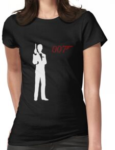 James Bond Womens Fitted T-Shirt