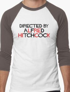 I'm an actor - directed by Alfred Hitchcock Men's Baseball ¾ T-Shirt