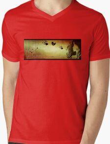 love in a breath... II Mens V-Neck T-Shirt