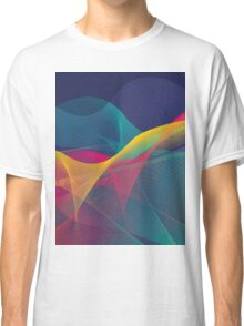 colorful abstract urban background Classic T-Shirt