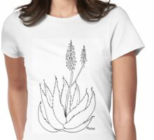 Aloe love (plant of immortality) Womens Fitted T-Shirt