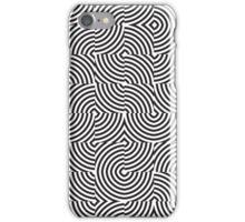seamless patterns Black white iPhone Case/Skin