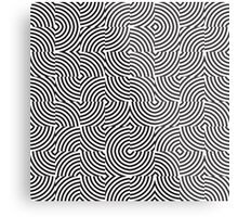 seamless patterns Black white Metal Print