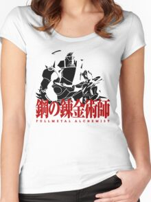 Fullmetal Alchemist Vector, Anime Women's Fitted Scoop T-Shirt