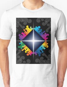 colorful abstract urban design T-Shirt