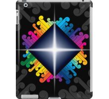 colorful abstract urban design iPad Case/Skin