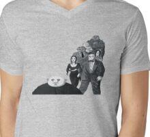 The Addams Family Mens V-Neck T-Shirt