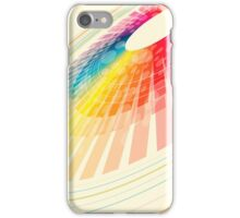 colorful abstract wheel iPhone Case/Skin
