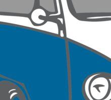 volkswagen T1 blue Sticker