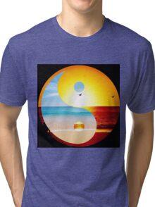 yin and yang ocean  Tri-blend T-Shirt