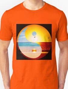yin and yang ocean  Unisex T-Shirt