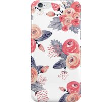 Vintage Rose Bouquets iPhone Case/Skin