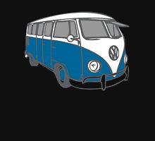 volkswagen T1 blue Zipped Hoodie