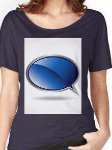 speech bubble Women's Relaxed Fit T-Shirt