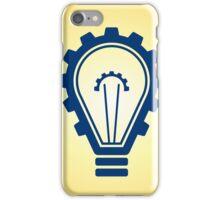 engineering bulb idea iPhone Case/Skin