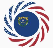 Nevadan Murican Patriot Flag Series Kids Clothes