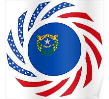 Nevadan Murican Patriot Flag Series Poster