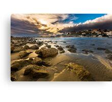 Golden hour at Cala del Morro Blanc Canvas Print
