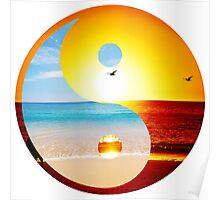yin and yang-ocean  Poster