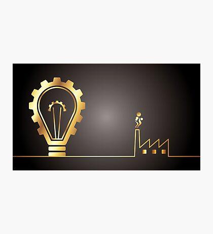 environmental bulb idea Photographic Print