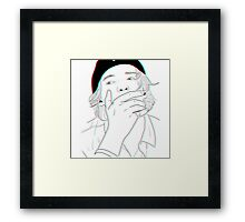 Cody Simpson Drawing Phone Case Framed Print