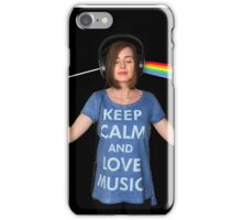 Dark Side of the Moon is in my head iPhone Case/Skin