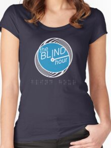 "Blind Hour Podcast ""In Braille"" Women's Fitted Scoop T-Shirt"