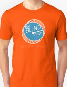 """Blind Hour Podcast """"In Braille"""" Unisex T-Shirt"""