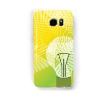 halftone bulb idea Samsung Galaxy Case/Skin