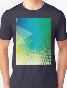 Abstract colorful halftone Unisex T-Shirt
