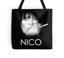 Nico: Middle-Aged Junkie Tote Bag