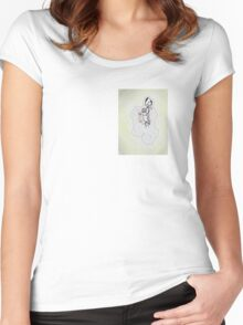 nouveau witch Women's Fitted Scoop T-Shirt