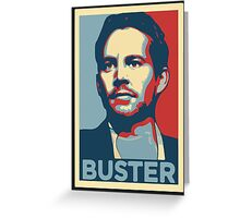 "Paul Walker/Brian O'Conner ""The Buster"" Greeting Card"