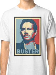 "Paul Walker/Brian O'Conner ""The Buster"" Classic T-Shirt"