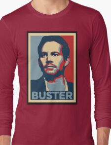 "Paul Walker/Brian O'Conner ""The Buster"" Long Sleeve T-Shirt"