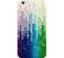 urban colorful abstract iPhone Case/Skin