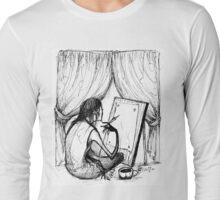 creative process Long Sleeve T-Shirt