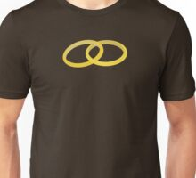 connected rings  Unisex T-Shirt