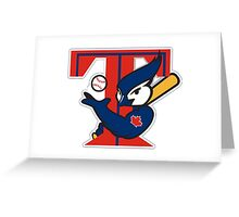 TORONTO BLUE JAYS BASIC LOGO Greeting Card