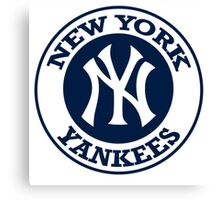 NEW YORK YANKEES LOGO Canvas Print