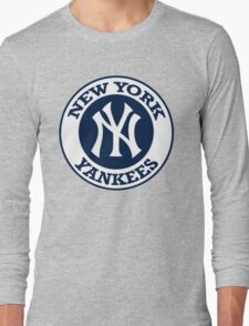 NEW YORK YANKEES LOGO Long Sleeve T-Shirt
