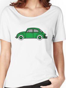 Volkswagen Bug green Women's Relaxed Fit T-Shirt