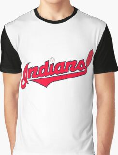 INDIANS BASEBALL TEAM Graphic T-Shirt