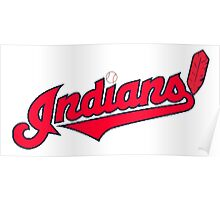 INDIANS BASEBALL TEAM Poster